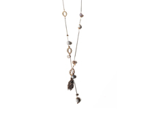 Material: Antique Brass/Crystal/Semi Precious Beads