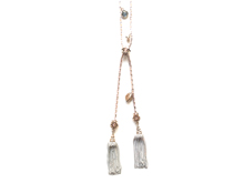 Material: Crystal + Oxide Pink White Gold