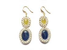 Material: Semi Precious Stone/Crystal Beads